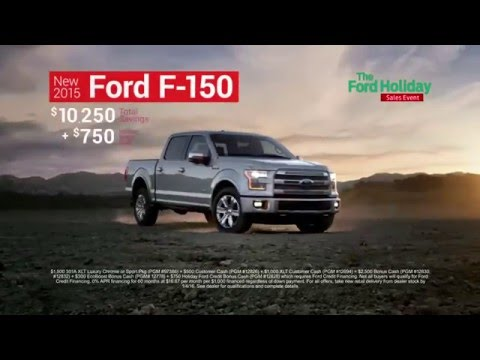 The Ford Holiday Sales Event Is On!