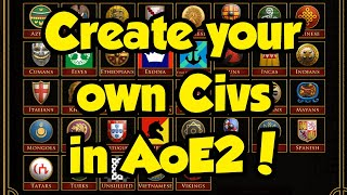 Amazing AoE2 website - create your own civs!