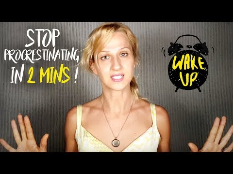 Stop PROCRASTINATING Now! 2 Min Powerful Visualization To Give You ENERGY To Get Sh*t Done!
