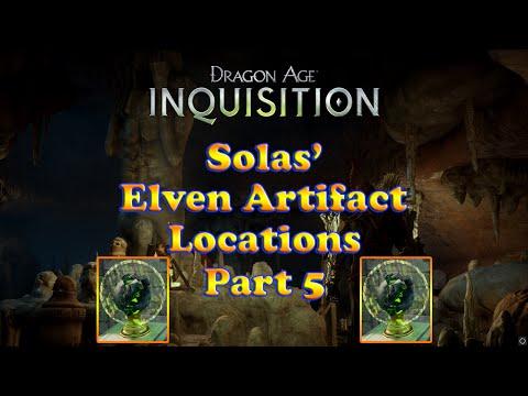Dragon Age: Inquisition - Solas Elven Artifacts - Measuring the Veil - The Storm Coast - Part 5