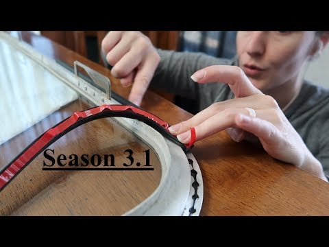 Living in An Airstream - Installing Window Seals In The Airstream Part 1 - Season 3.1