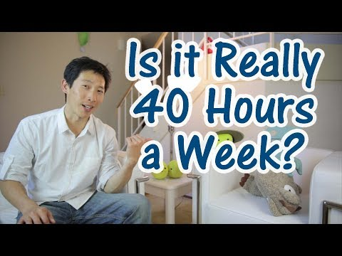 Illusion of a 40 Hour Work Week