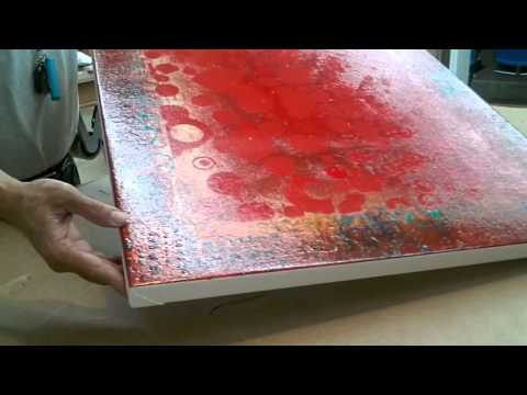 Framing: How To Frame A Roll Canvas -