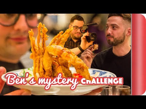 £45 Mystery Night Food Challenge - Pigs on Sticks & Improv?!?