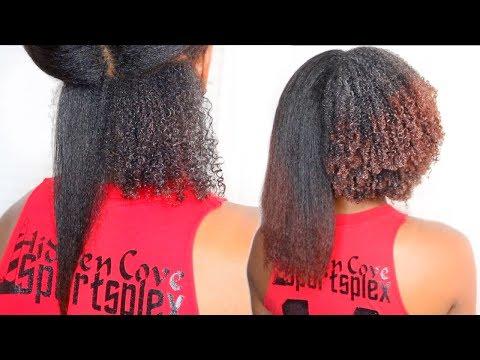 Straight to Curly Hair Routine | Watch My TYPE 4 HAIR Curls Revert (ZERO DAMAGE)