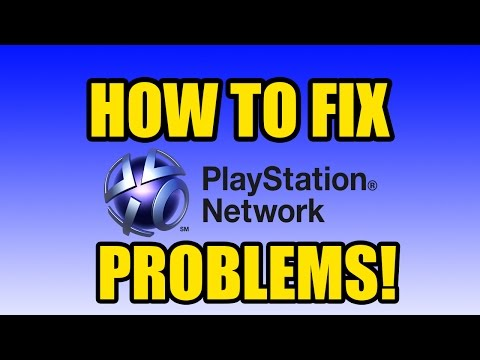 How to Fix Playstation Network Sign in Problems! [2014 FIX]