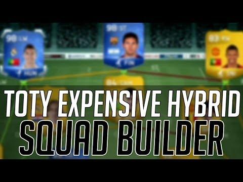 TOTY RONALDO + MESSI EXPENSIVE HYBRID SQUAD  | FIFA 14 Ultimate Team Squad Builder (FUT 14)
