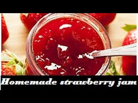 How to make Homemade Strawberry Jam (3 ingredients)