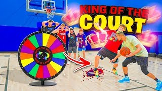 SPIN THE WHEEL King Of The Court 3!! 2HYPE IRL 1v1 BASKETBALL!!