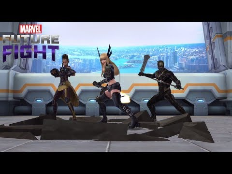 Marvel Future Fight Part 87 - Magik and Killmonger to Tier 2, Shuri Costume to Mythic!