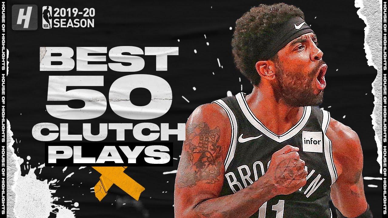 BEST 50 Clutch Plays & Game-Winners of the 2019-20 NBA Regular Season!
