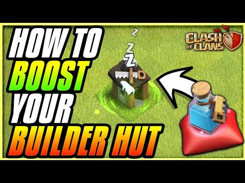 BUILDER POTION BOOST'S BUIDER HUT? FIND OUT NOW! CLASH OF CLANS•FUTURE T18