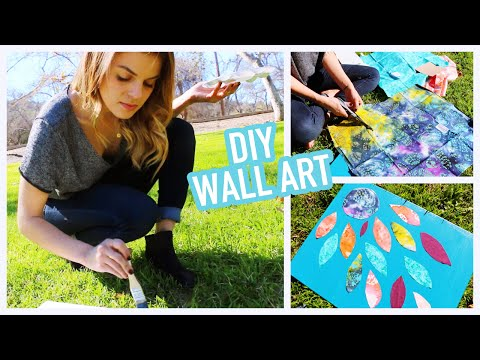 DIY: Easy & Creative Wall Art Ideas
