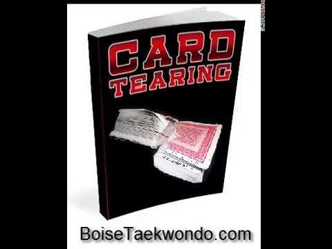 Boise Strongman Card Deck Tearing- Wolf Taekwondo Academy