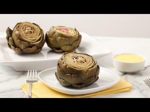 Easy Steamed Artichokes With Hollandaise Sauce - Martha Stewart