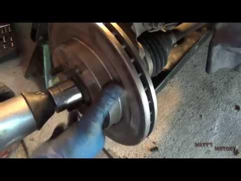 Wheel Bearing Replacement - Part 1 [2002 Mitsubishi Lancer]