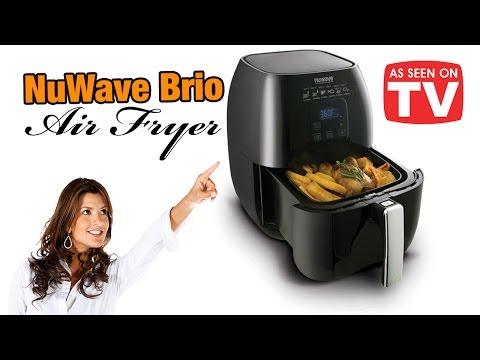 NuWave Brio Air Fryer - AS SEEN ON TV