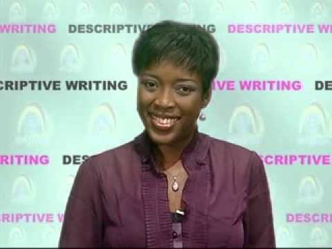 English Language- Descriptive Writing