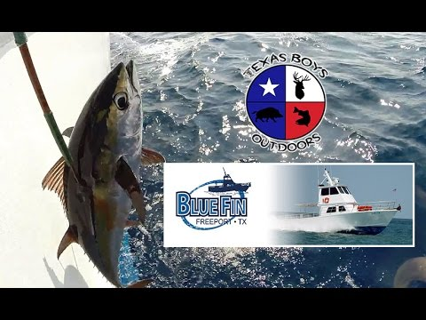 Texas Boys Outdoors - Offshore w/ Bluefin Charters