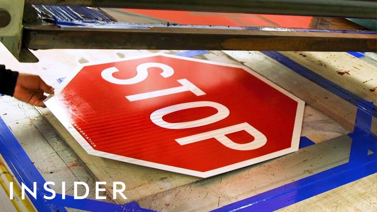 How NYC's Stop Signs Are Made    The Making Of