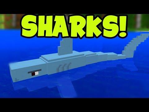 SHARKS!! Minecraft Pocket Edition