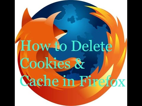 How to delete cookies in firefox browser