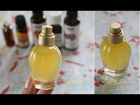 Homemade Natural Perfume Recipe - free of nasty chemicals