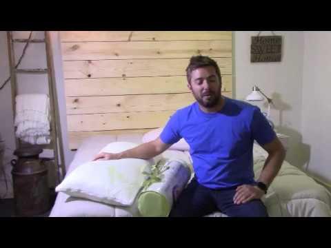 Aloe Vera Bamboo Pillow Review from SnuggleBoom