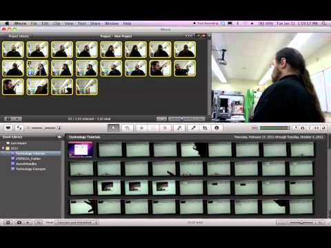 Animation from still photos using iMovie