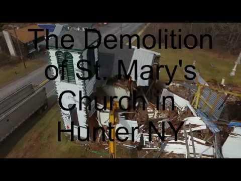 Rusto.com Film Play. St. Mary's Demolition DJI Phantom