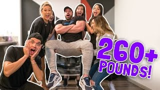 FINGER LIFT CHALLENGE! 260+ LBS! (IMPOSSIBLE)