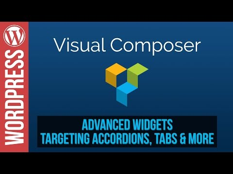 Advanced Accordions & Tabs in Visual Composer for Wordpress