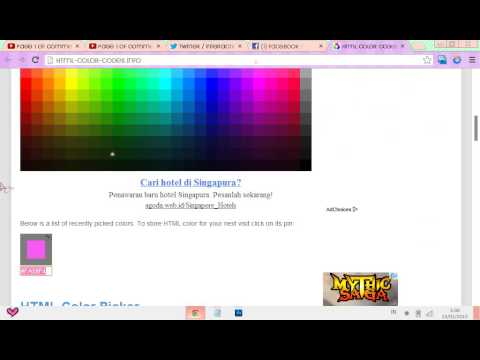 How To Change Your Facebook Colour/Scheme(Google Chrome)