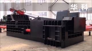 400 TONS PRESS POWER HYDRAULIC CAR BALER MADE IN CHINA