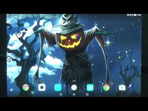 Halloween Live Wallpaper - beautiful free animated screensaver for Android phones and tablets