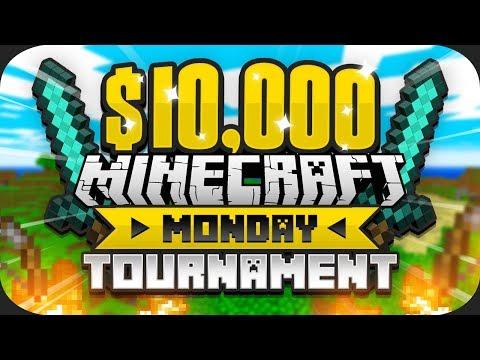Xxx Mp4 10 000 Minecraft Monday HUNGER GAMES Tournament Week 1 3gp Sex