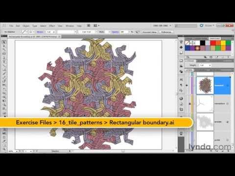 how to study adobe illustrator cs6 1613 Defining a tile pattern
