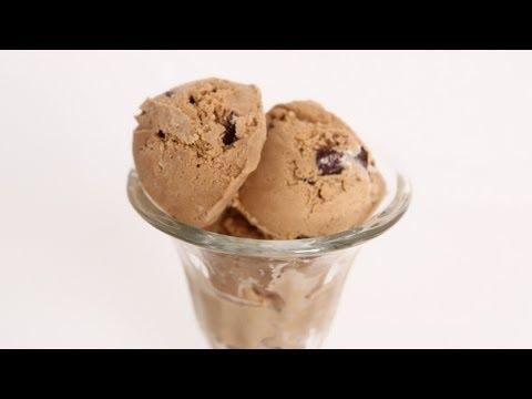 Coffee & Chocolate Chunk Ice Cream Recipe - Laura Vitale - Laura in the Kitchen Episode 614