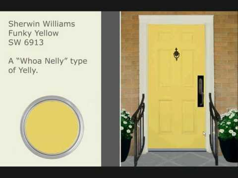 31 Door Colors You Probably Haven't Considered - Courtesy of The Color Fairy