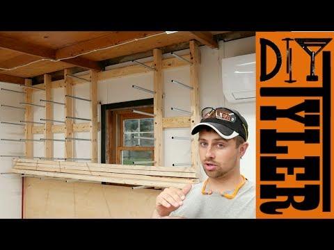EMT Lumber Storage Rack