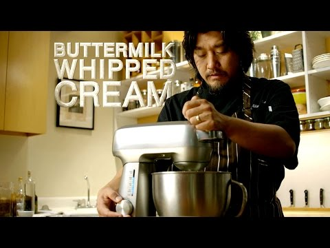 Breville Presents Buttermilk Whipped Cream -