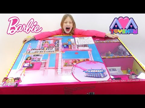 The biggest Barbie toy from Argos uk on Ava Toy Show