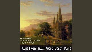 Trio In C Minor For Violin Viola And Cello Op 9 No 3 I Allegro Con Spirito