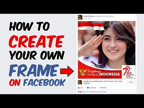 How To Create a Facebook Profile Picture Frame | Tutorial