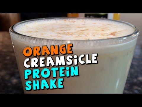 Orange Creamsicle PROTEIN Shake Recipe (High Fiber)