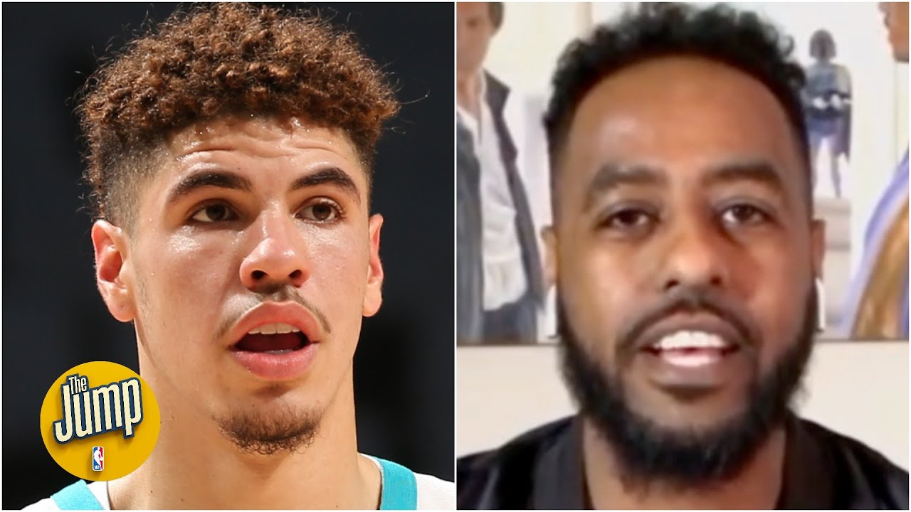 Reacting to LaMelo Ball showing off his passing skills vs. the Raptors | The Jump