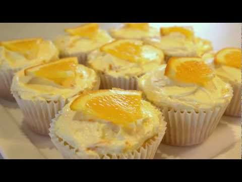 #12 Orange Cupcakes - How to make Orange Buttercream Frosting by 22do