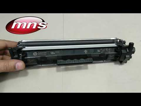 How to refill toner cartridge HP LaserJet 18A Toner safe and easy just 2 mins refill Laser cartridge