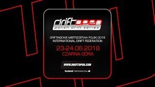 Drift Open 2018 Czarna Góra - kwalifikacje top 32