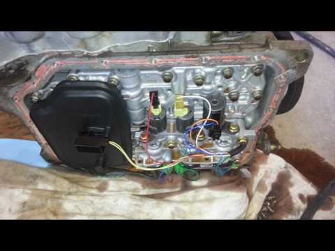 Changing transmission filter 04 mazda 3